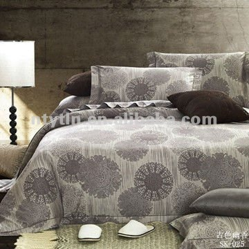 Seattle coffee cotton duvet covers