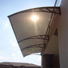 Lanyu outdoor cheap building materials polycarbonate caravan porch awning