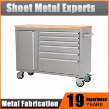 New Stainless Steel Workbenches / Garage Tool Cabinet With Drawers