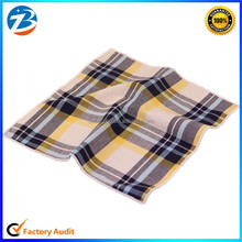 Hot Sale Fashion Stripe Design Cotton Handkerchief for Men