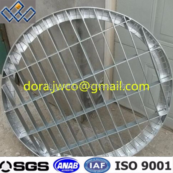 Galvanized steel 10 square garage floor drain covers for 10 floor drain cover