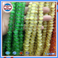 Cat's eye beads /natural cats eye gemstone 6mm green,yellow beads jewelry