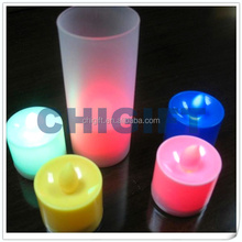 Free Sample Plastic Lighted Candles