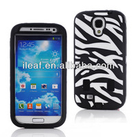 Hybrid Rubber Rugged Combo Protective Case with built in screen protector For Samsung Galaxy S4 i9500