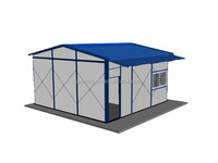 Prefabricated camping house/kit modular homes
