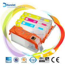 Auto reset chip ink cartridge for HP 655 ink refill kit top selling on alibaba