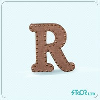 Large decoration wood table letter , letter wood a to z