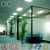 aluminum profiles for glass curved office partition wall Sound insulation