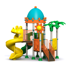 New Model High Quality Play Equipment Funny Kids Plastic Outdoor Playground