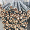Natural Raw bamboo poles/First-cut Bamboo stakes for construction