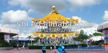 Beijing SBL amusement equipment double decker carousel