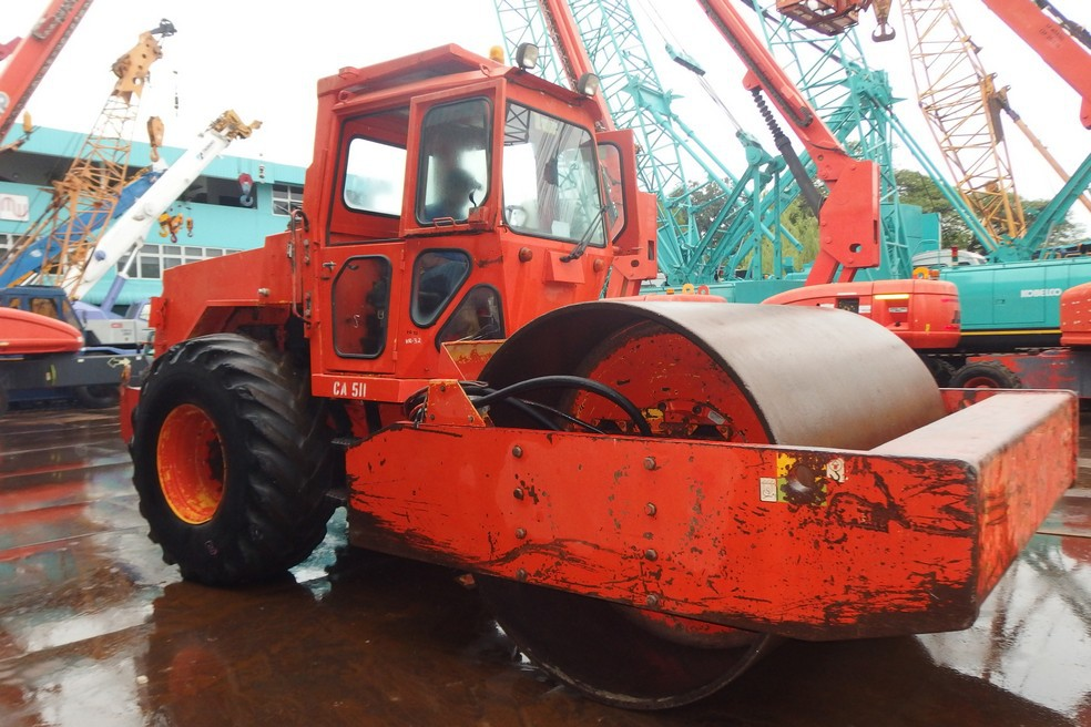 DYNAPAC CA511D SINGLE SMOOTH DRUM COMPACTOR FOR SALE