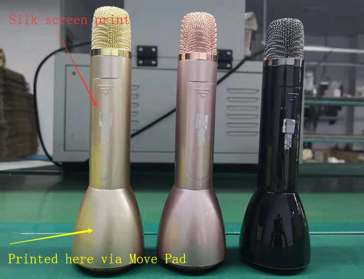 Wireless Karaoke Machine Microphones Wireless Speaker Portable KTV Player Music Playing and Singing