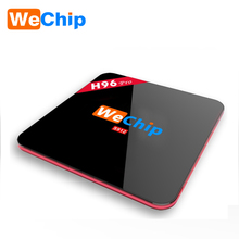 Wechip Online Free Live Tv Channels 4K Full HD 4GB Ram 16GB Rom H96 Pro octa core tv box android 7.0
