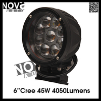 Auto Parts 6'' 45W 12V Tractor Led Work Light With Strong Base Mount