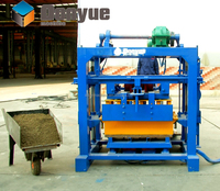 Best selling QT40-2 Small concrete and block making machines in uk