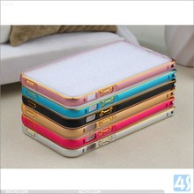 durable quality beautiful Aluminum Frame metal bumper phone case for iphone 5 5s