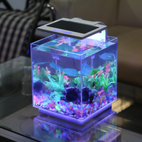 SUNSUN new patent nano view fish tank waterproof paint for fish tanks for coffe table
