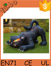 2015 Advertising cute& large inflatable cat / inflatable halloween black cat for sell