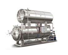 Hot water spray sterilizer industrial autoclave for canned food