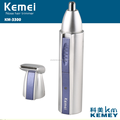 km3300 Kemei 2-in-1 Nose & Ear Hair Electric Trimmer Factory Direct selling
