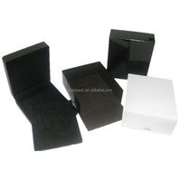 Top Quality Skin Touch Painted Plastic Jewelry Set Box