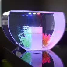 High quality acrylic fish tank with LED /perspex fish tank with LED for shop