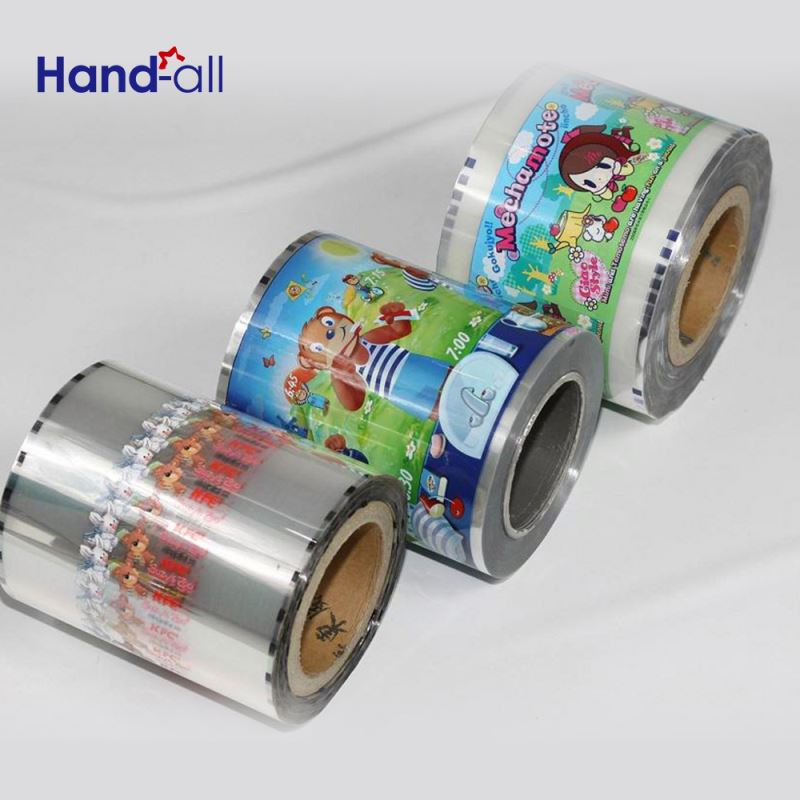 Waterproof Colored Thin Wrapping Printing Papers Rolling