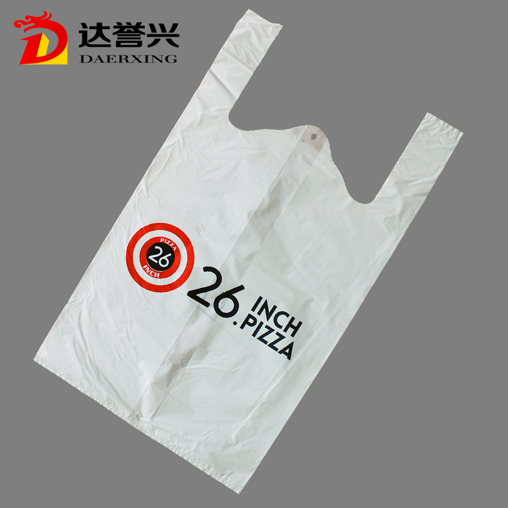 custom made factory price t-shirt shopping polybag