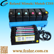 Continuous Ink Supply System for Mimaki UJF-3042 Printer CISS