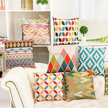 Hot Sale Pillow Covers Cushions Multi Style DIY Pattern Shadow Office Sofa Chair Home Textiles Pillowcase Without Pillow Core