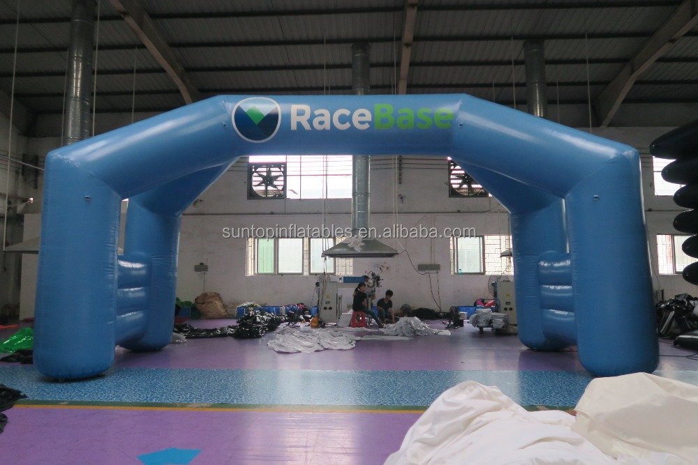 NEWLY inflatable advertising arch for sports game with PVC tarpaulin best quality