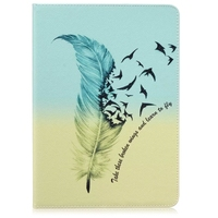 high quality colorful drawing patterns leather mobile beauty case cover for ipad 7 air3