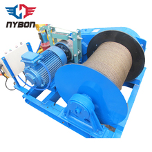 electric rope pulley hoist/wire rope pulling electric powerwinch winch cover