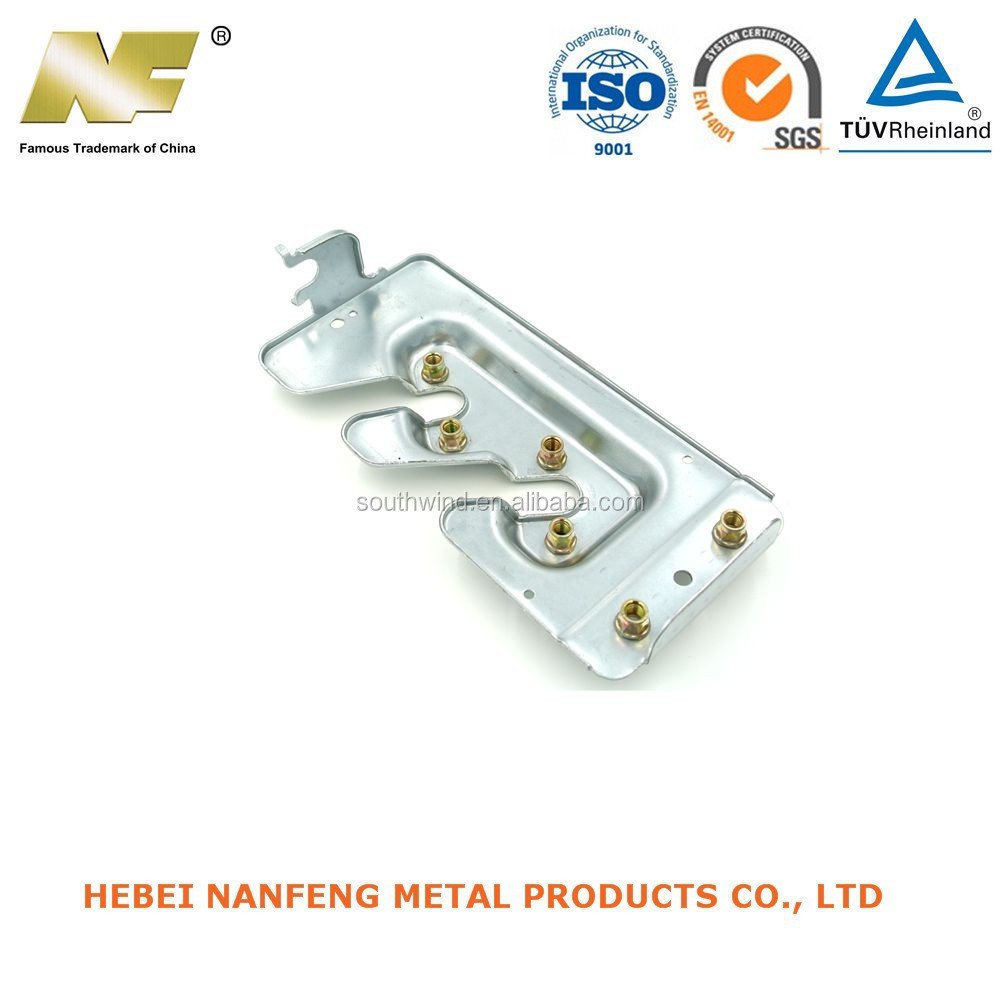 OEM high precision metal stamping parts with ventilator chevis working