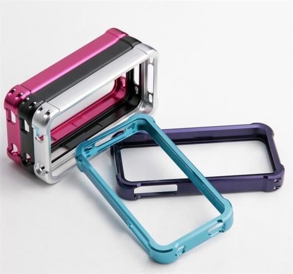 Mobile Phone Aluminum Frame Case with Various color