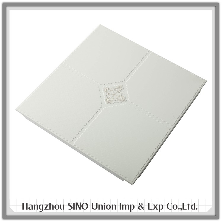 300*300mm material light weight suspend ceiling cover plate