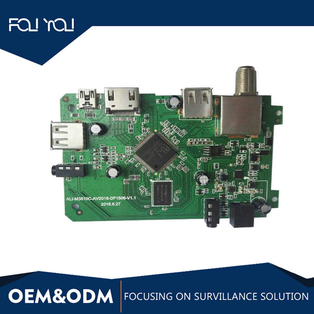 SMT&SMD PCB assembly service for set top TV boxes digital video broadcasting EMS service