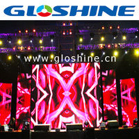 2014 new images P4.81 led display screen,die-casting aluminum material cabinet