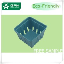 Custom fresh cherry berry baskets & Renewable plant pulp fruit tray packing