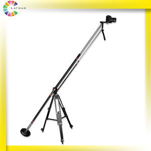 Professional DV video camera jib crane for video filming with Foldable Arm