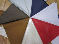 PU synthetic leather Elastic backing PU fabric for clothing and raincoat