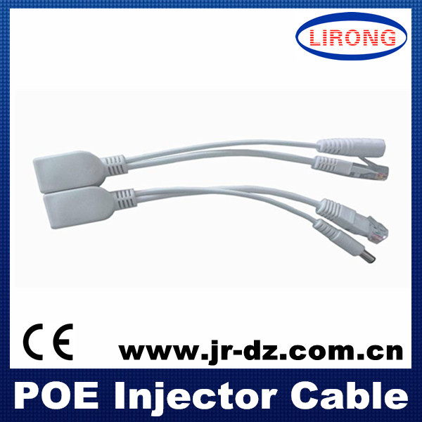 poe injector cable power and video cable hdmi cable