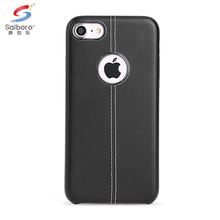 Factory direct supply black for iphone5 pu leather case