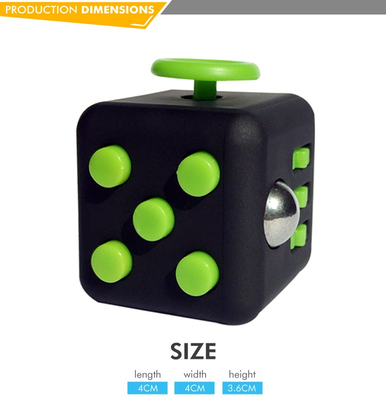 Hottest reduce anxiety anti stress fidget cube toys for adults