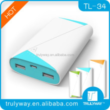 trulyway Roll Book TL-34 7800mAh for smart phone and digital devices-optional colors