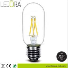 2w 4w E27 E22 E26 clear frosted milky glass led dimmable bubble tube lamp with 360 degree