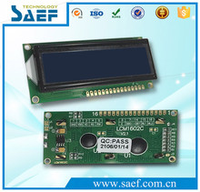 16*2 LCD modules with low operating voltage blue character