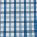 linen cotton fabric check design for men's shirt