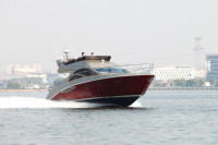 SANJ flybridge sport motor yacht luxury yacht sale